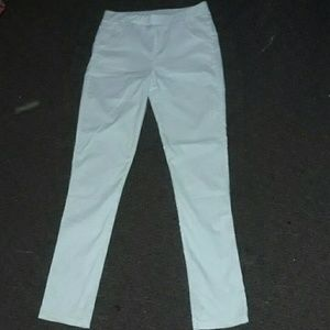 Denim - White stretch skinny jeans